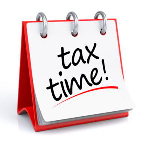 Don't forget, April is income tax time!